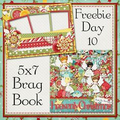 Scrapbooking TammyTags -- TT - Designer - Just So Scrappy, TT - Item - Quick Page, TT - Style - Brag Book, TT - Theme - Christmas