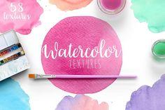 Watercolor textures example 1