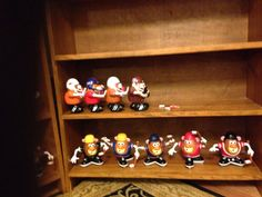 Redecorating.  College Football in alphabetical order.  NHL with the mean guys first.
