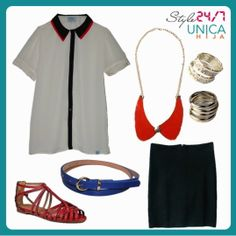 Look sharp in this outfit!
