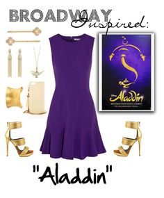 """""""Broadway Inspired: Aladdin"""" by modest-musts ❤ liked on Polyvore featuring Henri Bendel, Diane Von Furstenberg, Oscar de la Renta, Mia Limited Edition and Yossi Harari"""