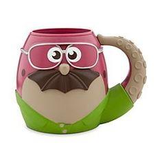 Disney Don Carlton Cup - Monsters University - Coffee cup (coffee) (coffee cups) (coffee art) (stein) (beer stein) (wine glass) Tassen Design, Disney Coffee Mugs, Disney Cups, Little Presents, Cute Cups, Monster University, Cool Mugs, Funny Mugs, Tea Mugs
