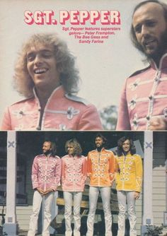 Sgt. Pepper's Lonely Hearts Club Band - Peter Frampton and The Bee Gees