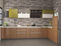 Buy Signoria L-Shaped Modular Kitchen from Capricoast. L Shaped Modular Kitchen, L Shaped Kitchen, Kitchen Cabinetry, Black Kitchens, Storage, Outdoor Decor, Furniture, Home Decor, Ideas