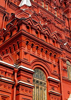 / state history museum / red square / by mattermatters / Byzantine Architecture, Russian Architecture, Beautiful Architecture, Architecture Details, Samara, Visit Russia, Largest Countries, Moscow Russia, Best Places To Travel