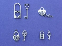 The Lock and Key Collection- somehow make them part of seat placeholders