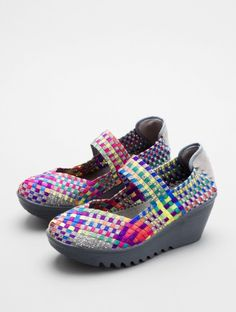Cute colors! with Comfort...  LULIA by Bernie Mev at http://www.LorisShoes.com
