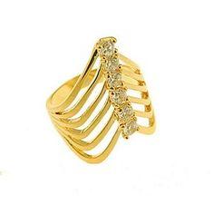 $36 Ring 18K Gold Plated, info@bijuterie-online.ro