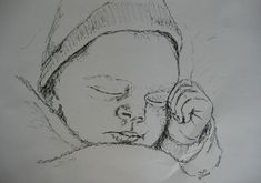 Teken jij ook zo'n mooie baby? Of ben jij creatiever?