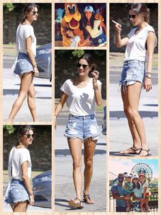 As a Victoria's Secret Angel, Alessandra Ambrosio naturally attracts attention. But the 33-year-old model made sure Sunday revolved around her daughter Anja, who was celebrating her sixth birthday.  The celebration kicked off with a special pancake breakfast, complete with candles, before Alessandra, her fiance Jamie Mazur, Anja and son Noah headed over to California's Disneyland.