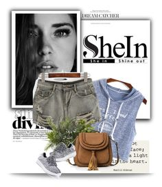 """Shein  3 / 10"" by mell-2405 ❤ liked on Polyvore featuring WithChic and Nearly Natural"