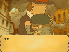 If i cried in any game the most would be the third game of Layton. The tears wouldnt stop.