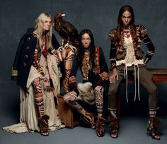 OMG Caroline Trentini, Fei Fei Sun and Joan Smalls for F/F 2015 by Mert and Marcus, Panos Yiapanis and Giovanni Bianco Foto Fashion, 70s Fashion, Trendy Fashion, Korean Fashion, Fashion Art, Fashion Models, Winter Fashion, Fashion Design, Fashion Today