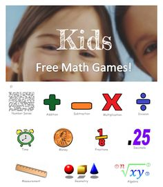 What are some online math games and puzzles for kids?