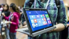 Lenovo Miix 2 Review from Techradar. 11inch comes out in April.