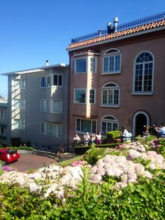 The houses in San Francisco are so distinct and colourful!