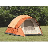 On sale 6 Person Family Dome Tent Design with Mesh Screen and Top Cover (12' x…