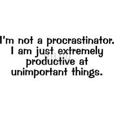 Not A Procrastinator on www.addictedtorubberstamps.com