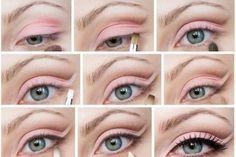 Fotos de moda | 20 increíbles tutoriales de ojos, maquillaje para un look perfecto | http://fotos.soymoda.net