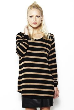 coveting this @lnaclothing striped sweater for fall.
