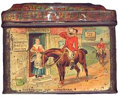 George Herbert Ltd biscuit tin c.1895