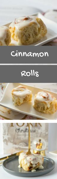Cinnamon Rolls mit Frischkäse Glasur