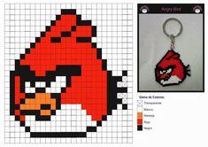 Diy: Patrones para crear Hama Beads de Angry Birds