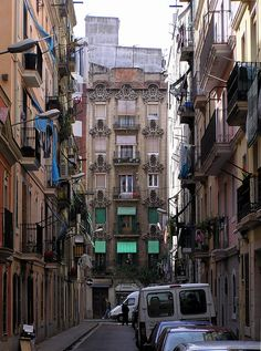 Barcelona Barceloneta by Arnim Schulz, via Flickr