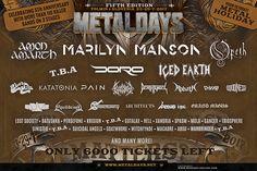 Marilyn Manson prihajajo v Tolmin na MetalDays 2017   RADIO ŠIŠKA
