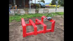 Timber car Outdoor Nursery, Outdoor Learning Spaces, Outdoor Classroom, Outdoor Areas, Playground, Child Care, Centre, Outdoors, Teaching