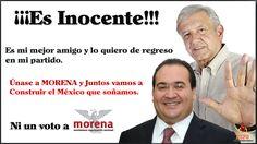 Duarte es Inocente: AMLO.