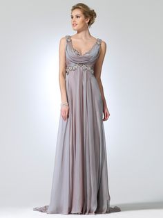 I LOVE this dress! The style makes me think Greek, and the details are drool-worthy.
