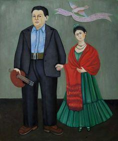 Peinture : frida Kahlo !