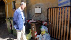 Miracoli: Folli trasforma i cumuli di rifiuti abbandonati in pochi sacchetti esposti nel giorno sbagliato