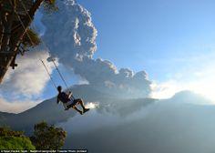 Banos, Ecuador/ Mt. Tungurahua.