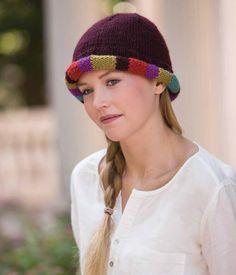 Let's Ride to Ripon Hat Pattern; Vicki Square | InterweaveStore.com