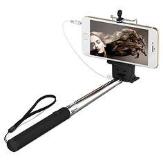 Selfie Stange, JETech® Batterielos Selfie Stange Stick Stab Monopod Erweiterbare Drahtlose Kabelsteuerung (Nein Batterie Nein Bluetooth) mit Halterung Halter für Apple iPhone 6/6 Plus/5/4, iPod, Samsung Galaxy S6/S5/S4/S3, Note 4/3/2 und die meisten anderen Smartphones null http://www.amazon.de/dp/B00VYX95T4/ref=cm_sw_r_pi_dp_HfqQvb0QRG1D7