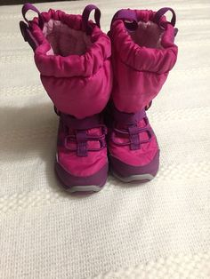 4ce24c6b01f1 Stride Rite Kids Made2Play Sneaker Boots Toddler Girl s Size 6 M Purple Pink   fashion
