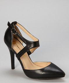 Black Cece Ankle Strap Pump #zulily #zulilyfinds
