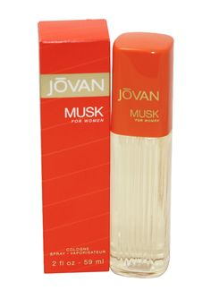 Jovan Musk by Coty For Women: scent includes luxurious, gentle, floral fragrance