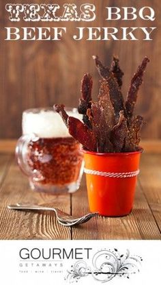 BBQ Beef Jerky Recipe - Simple & Tasty! Great with Beer