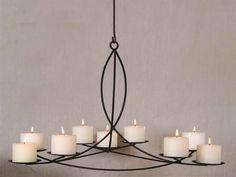 hanging chandelier   Hanging Candle Chandelier - Ideas For Hanging A Candle Chandelier with ...