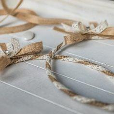 Wedding Wreaths, Napkin Rings, Knitting, Diy, Decor, Decoration, Tricot, Bricolage, Cast On Knitting
