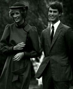 22 April 1983: The Prince and Princess of Wales visited Prince Edward, wearing a kiwi feather cloak, at the Wanganui Collegiate School where he is spending two terms as a junior master during his gap year.