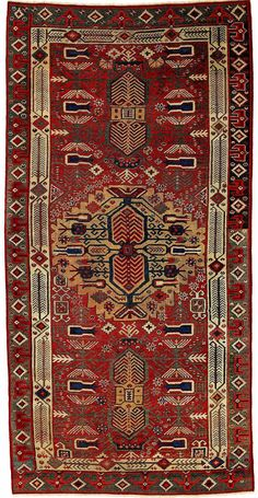 Turkish Karapinar Carpet Fragment 17th Century