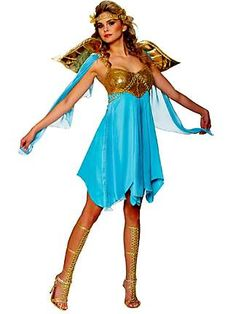 greek goddess costume not sure on the wings though - Helen Of Troy Halloween Costume