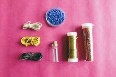 Curious and Catcat: DIY Mini Bottle Necklace