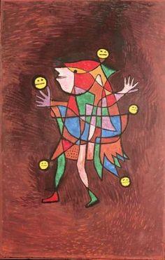/kunstwerke/500px/Paul Klee - Figurine The Fool 1927 (no 183) (oil on cardboard) - (MeisterDrucke-282578).jpg