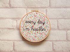 Rick Ross 'Every Day I'm Hustlin' Rap Lyrics. Wall Art