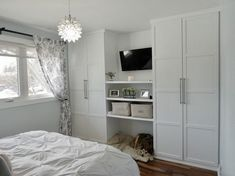 Bedroom wardrobe design ikea pax built ins 50 Ideas Ikea Wardrobe, Ikea Built In, Bedroom Interior, Bedroom Design, Bedroom Layouts, Storage Hacks Bedroom, Bedroom Built Ins, Build A Closet, Bedroom Built In Wardrobe